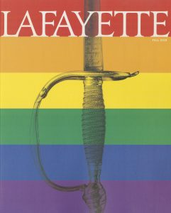 Cover of fall 2018 issue of the Lafayette magazine